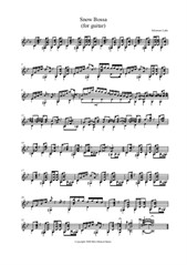 Snow Bossa (Prelude No.5)